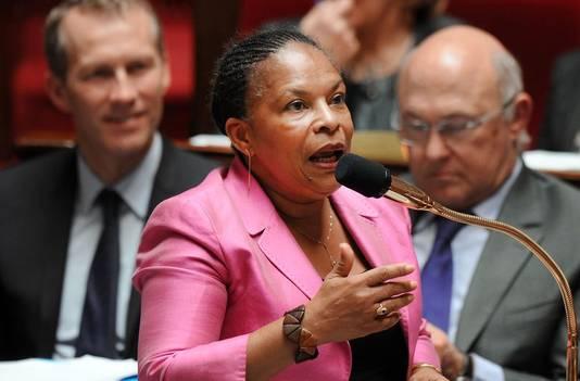 Christiane Taubira, ministre française de la Justice.