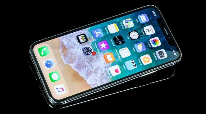 De iPhone X.