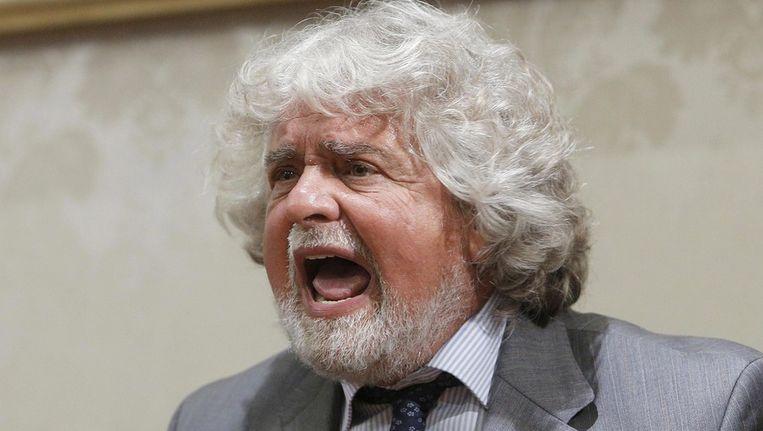 Beppe Grillo. Beeld epa
