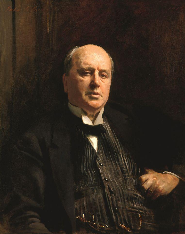 John Singer Sargent: Henry James (1843-1916), 1913. Beeld National Portrait Gallery