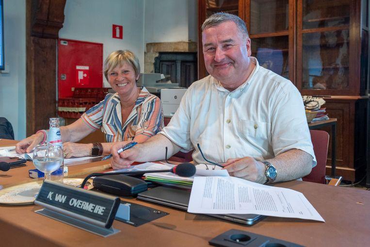 Karim Van Overmeire in de Aalsterse gemeenteraad.