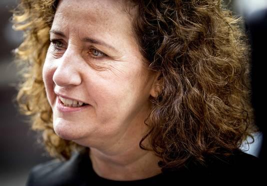 Ingrid van Engelshoven, minister van Onderwijs, Cultuur en Wetenschap.