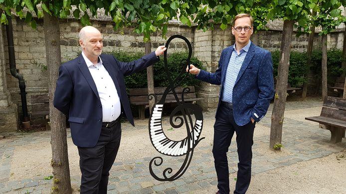 Jacques Kinnaer en Bart Debbaut stellen de coronaproof versie van Klassiek in de Kapel voor.