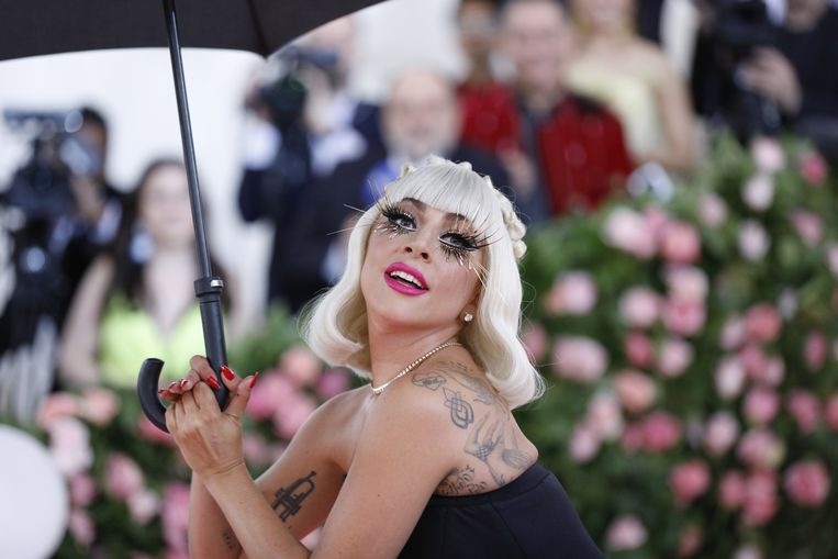 Dit weekend host Lady Gaga het tv-benefietconcert 'One World: Together at Home'. Beeld EPA