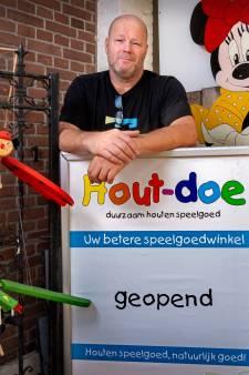 Na zwaar coronajaar kan speelgoedwinkel in Schijndel weer open