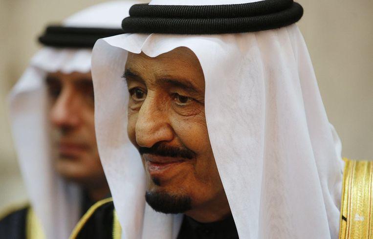 De koning van Saudi-Arabië, Salman. Beeld reuters