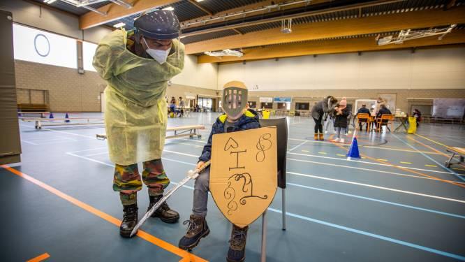 Leger springt bij tijdens testing in Sint-Truiden, ridder Thomas steelt de show