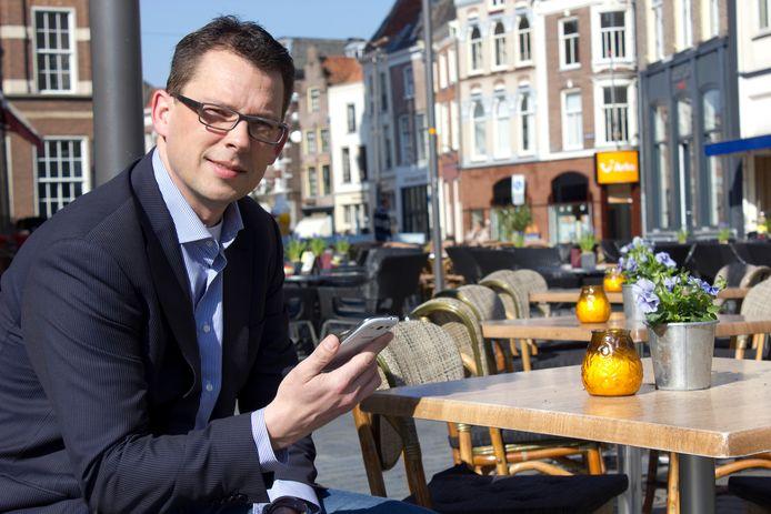 Binnenstadsmanager Remco Feith ziet juist grote kansen voor de binnenstad van Zutphen.