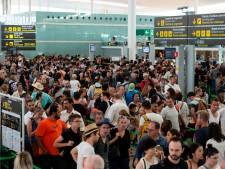 Des files d'attente considérables à l'aéroport de Barcelone