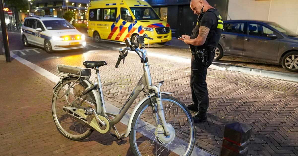Ongeval tussen motor en fietser in Oss, man raakt gewond aan het hoofd.
