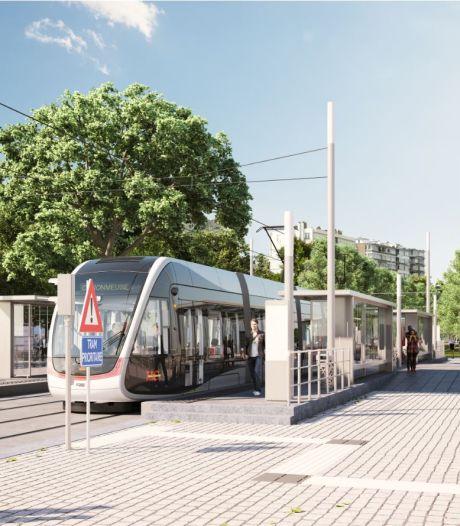 Voici à quoi devraient ressembler les stations du tram à Liège