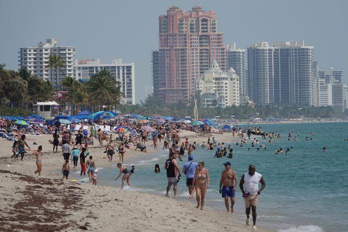 Strand van Fort Lauderdale Beach in Florida