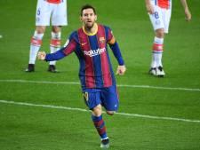 Barcelona zet goede reeks in La Liga voort tegen Alavés dankzij goals Messi en Trincão