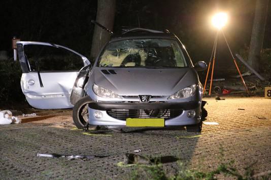 Ernstig ongeval met drie doden van 15, 16 en 16 jaar en twee gewonden van 17 en 20.