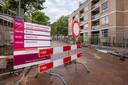 De Adriaan van Bergenstraat is een fietsstraat geworden.