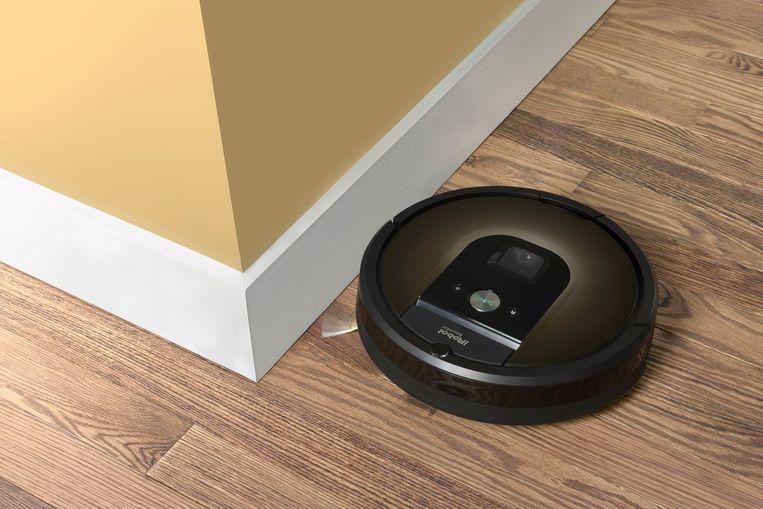 De Roomba 980, een van de toppers onder de stofzuigrobots.