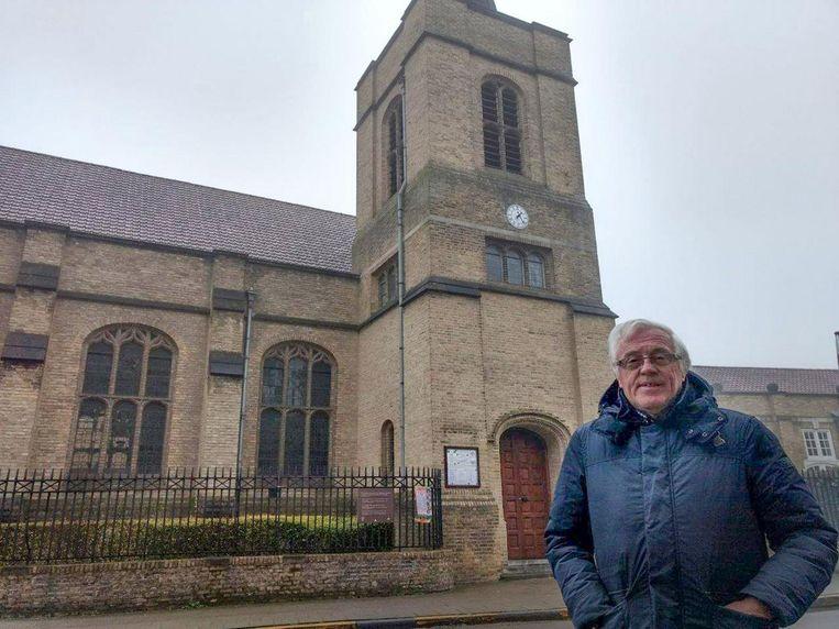 Jean-Pierre Meirlaen voor de Anglicaanse kerk.