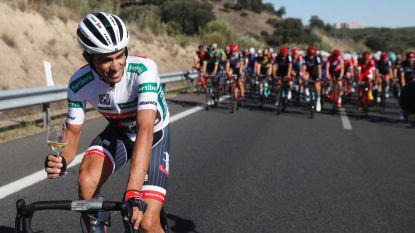Het eresaluut van Contador
