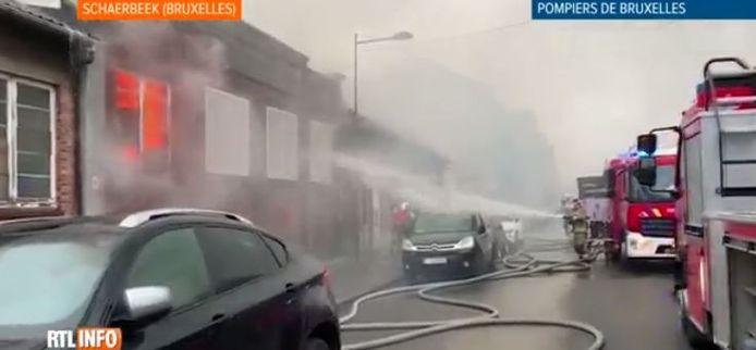 Un incendie s'est déclaré samedi matin dans une école désaffectée de Schaerbeek.
