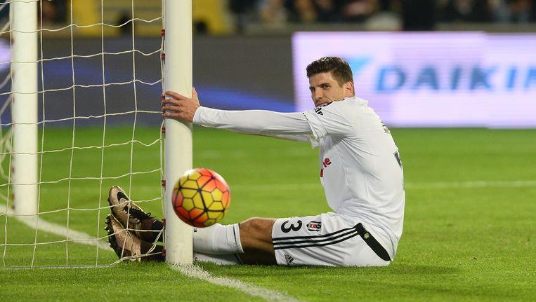 Mario Gomez scoorde de enige goal van de wedstrijd. Beeld Photo News