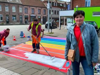 Burgervraag van Isabelle (42) positief beantwoord: regenboogzebrapaden aan station
