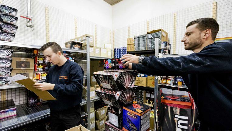 Achmea is voor een verbod op consumentenvuurwerk. Beeld ANP