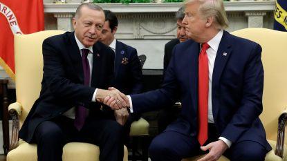 Erdogan op bezoek in Witte Huis