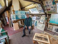 Jan Althuizen schildert al een halve eeuw in De Peel: 'De Peel heeft duizend gezichten'