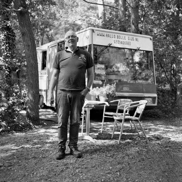 Een foto uit de serie 'Mooi volk' van fotograaf Sven Scholten. Sinds dit weekeinde te bekijken in het nieuwe online fotomuseum van Apeldoorn Photo