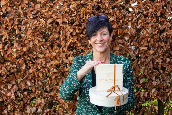 Kaasmeester Ann Keymeulen uit Wanzele lanceert 'The Cheese Box'.