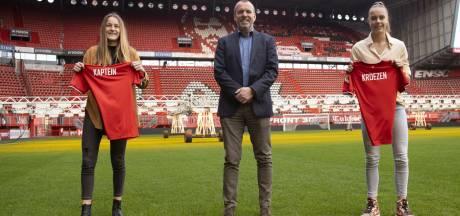 Twentse talenten maken stap naar eerste selectie FC Twente Vrouwen