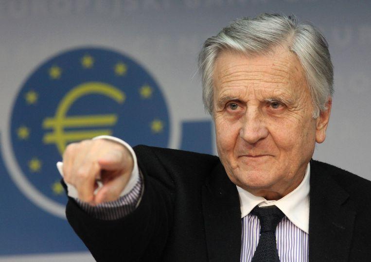 Jean-Claude Trichet, de voorzitter van de Europese Centrale Bank. Beeld REUTERS