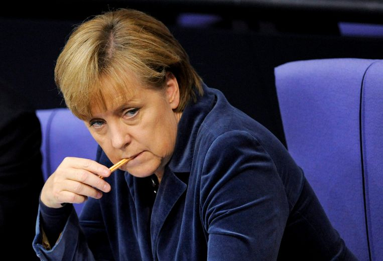 Angela Merkel in Berlijn (2011). Beeld EPA