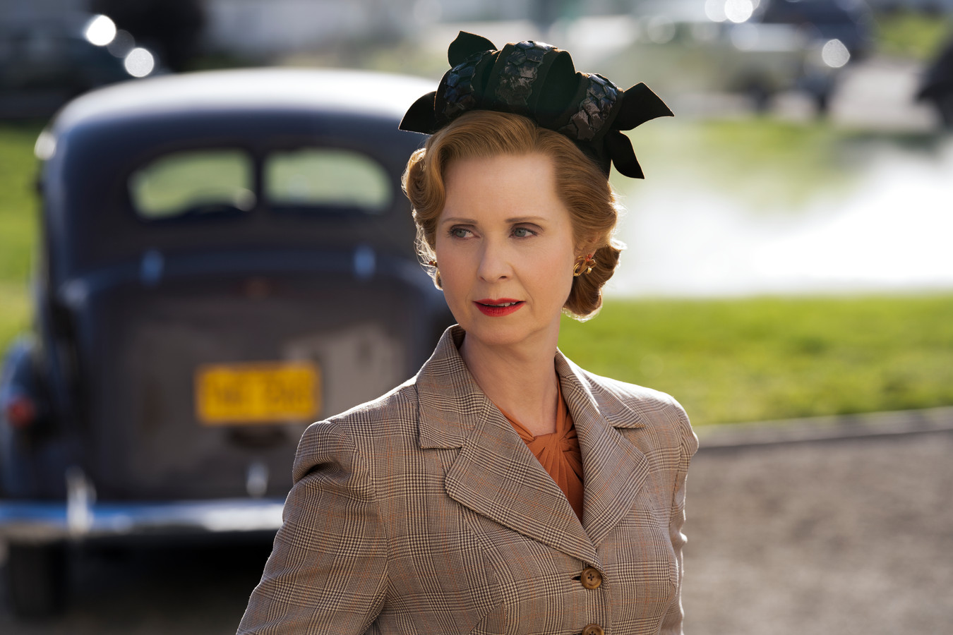 Cynthia Nixon in Ratched.