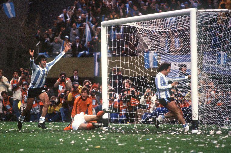De verloren finale van 1978 Beeld anp