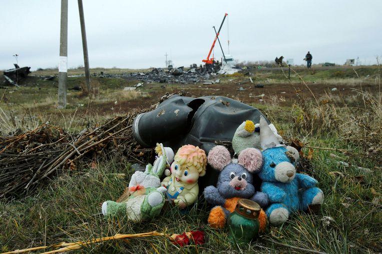Rusland werkte het onderzoek naar het neerhalen van de MH17 vanaf het begin tegen. Beeld REUTERS