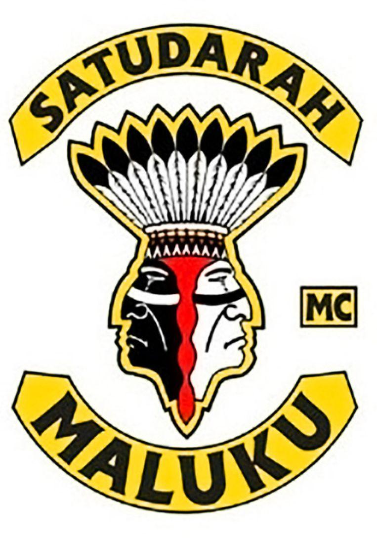 Logo van de motorclub waarmee de aangehouden rechercheur nauwe contacten zou onderhouden Beeld