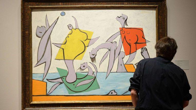 Le Sauvetage van Pablo Picasso. Beeld afp