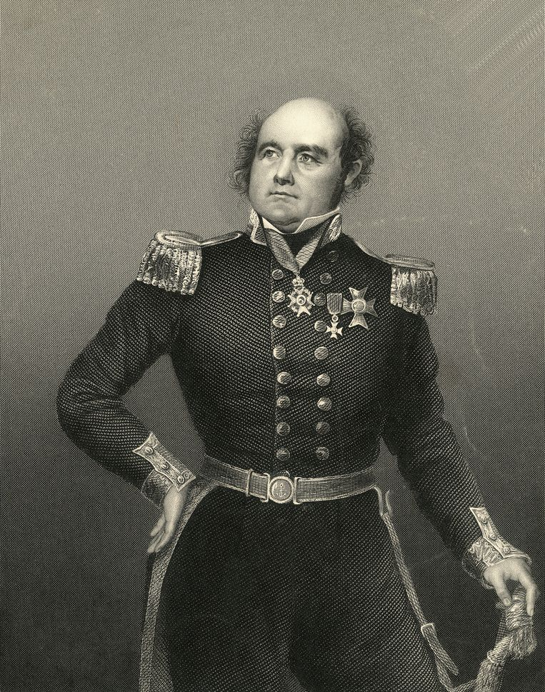 Sir John Franklin. Beeld Bettmann Archive