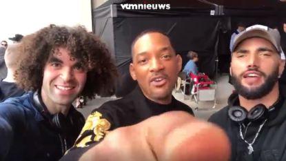 VIDEO. Will Smith feliciteert Adil en Bilal met 'Belgian Big Screen Award'