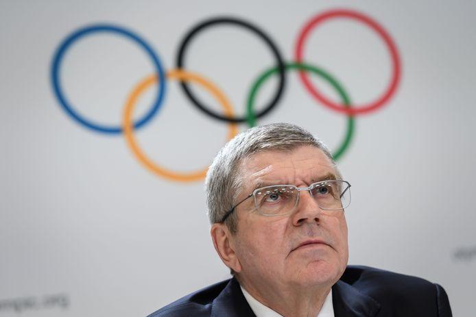 Thomas Bach, président du Comité international olympique