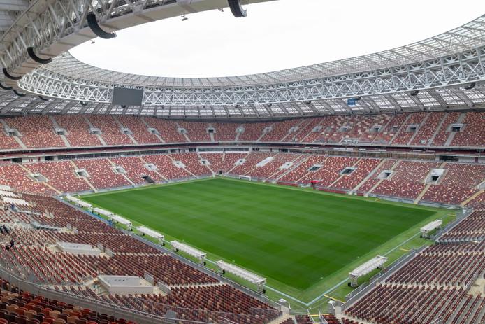 Het Olympisch stadion in Moskou.