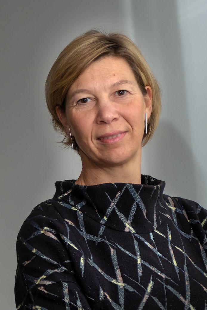 Burgemeester Inge Lenseclaes.