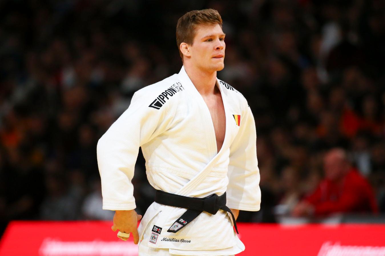 Première victoire en Grand Chelem pour le jeune judoka belge.