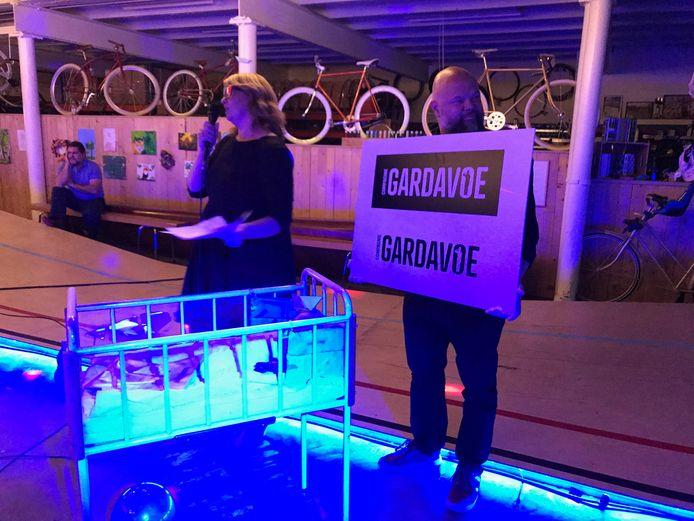 Gardavoe vierde de geboorte van een nieuw theaterstuk in Cimorné.