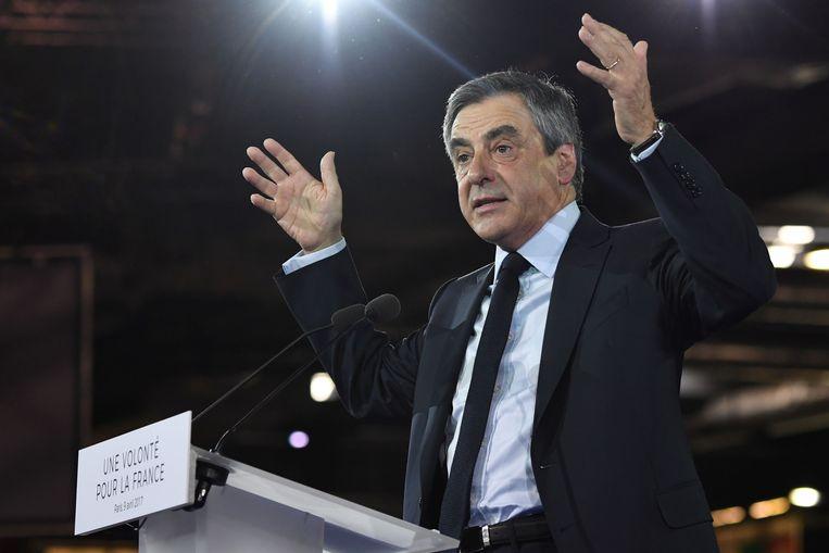 François Fillon. Beeld AFP