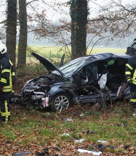 Dode bij ongeval vlak over de grens bij De Lutte
