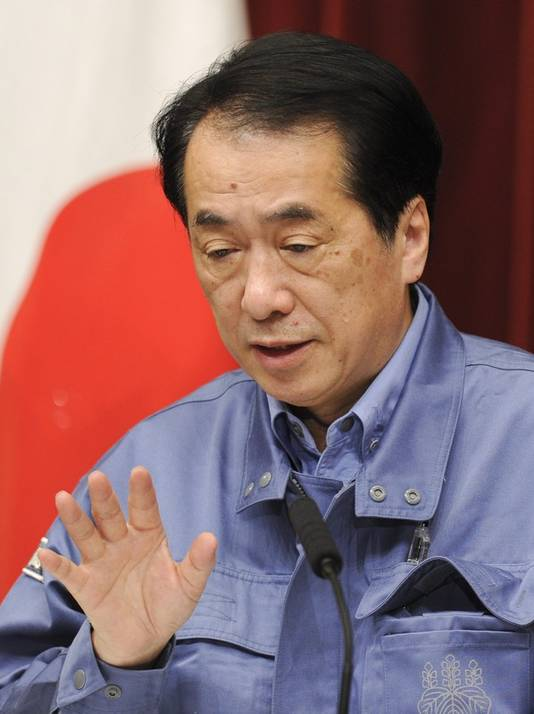 """Premier Kan Naoto: """"Grootste ramp voor Japan sinds WOII."""""""