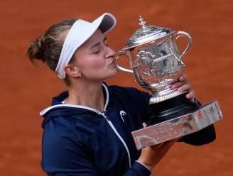 Tsjechische verrassing Krejcikova wint Roland Garros en krijgt morgen kans op straffe dubbel