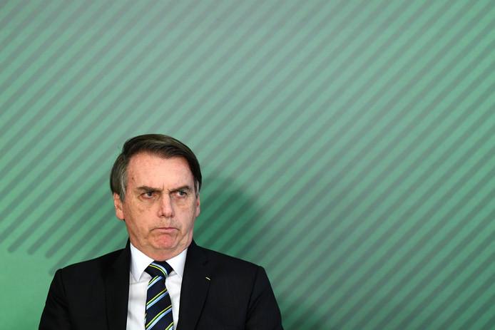 Jair Bolsonaro, président du Brésil.